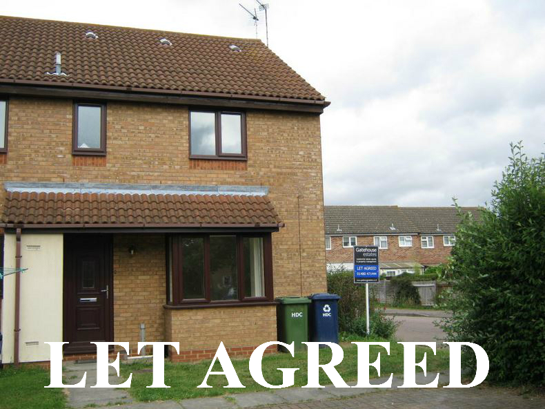 2 bedroom cluster house to rent – Betts Close, Godmanchester, PE29 2YA