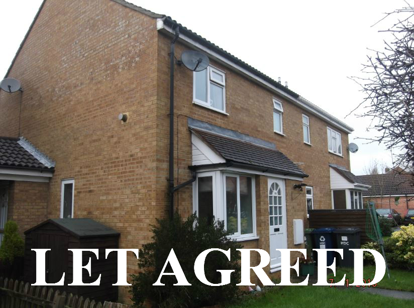 1 bedroom house to rent St Neots - Begwary Close, Eaton Socon, PE19 8PZ