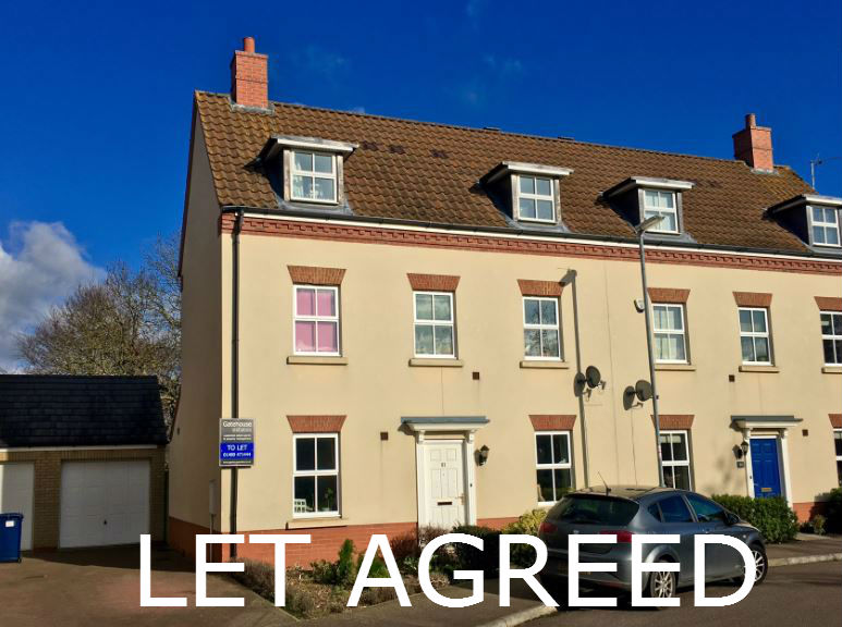 Godmanchester property for rent 3 bedrooms & garage