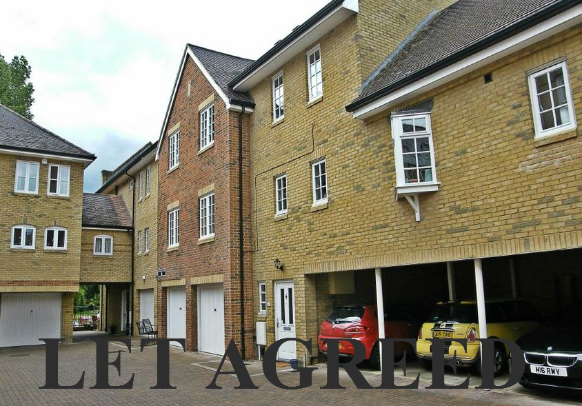 2 bedroom townhouse to rent St Neots - Chandlers Wharf, PE19 2AL