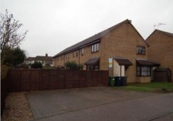 1 bedroom terraced house to rent in Godmanchester with garden