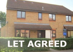 2 bedroom house with parking to rent in Godmanchester