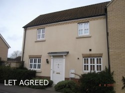 2 bedroom semi detached house to let in Godmanchester