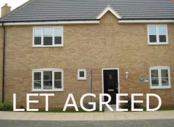 3 bedroom house to let in Godmanchester with garage & garden