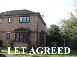 1 bedroom cluster house to rent St Neots - Cornwallis Drive, Eaton Socon, PE19 8TX
