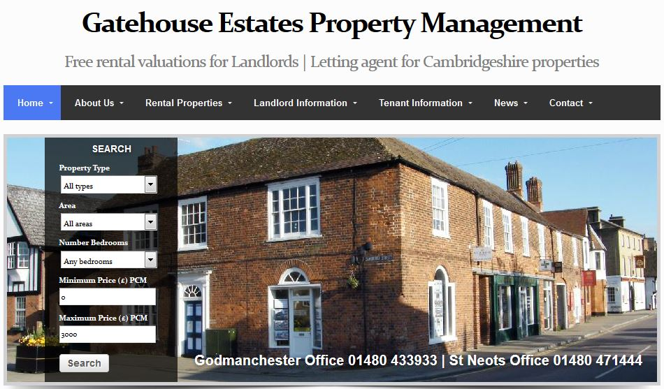 Gatehouse Estates Property Management Rental Agent & Lettings Services Godmanchester